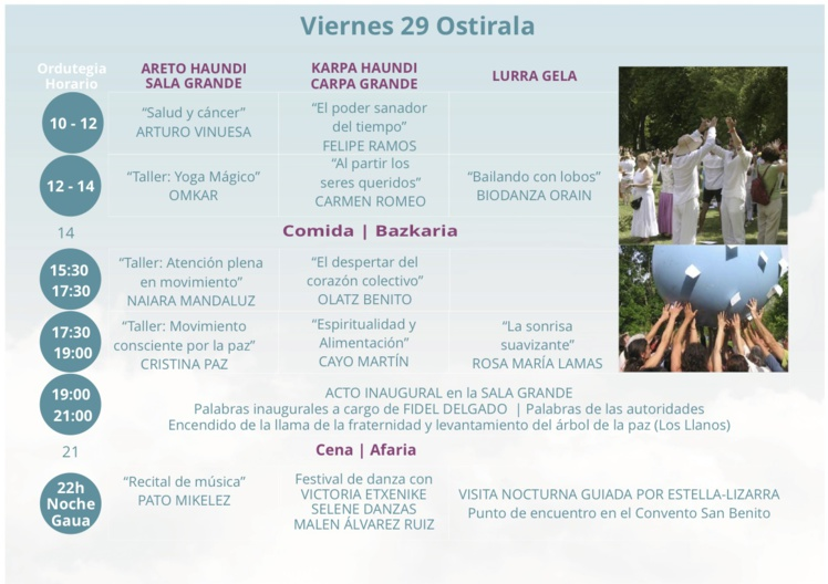 Foro Espiritual de Estella Junio 2018