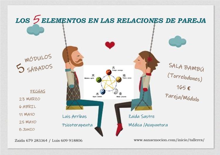 Crecer en pareja: Los 5 elementos en la pareja