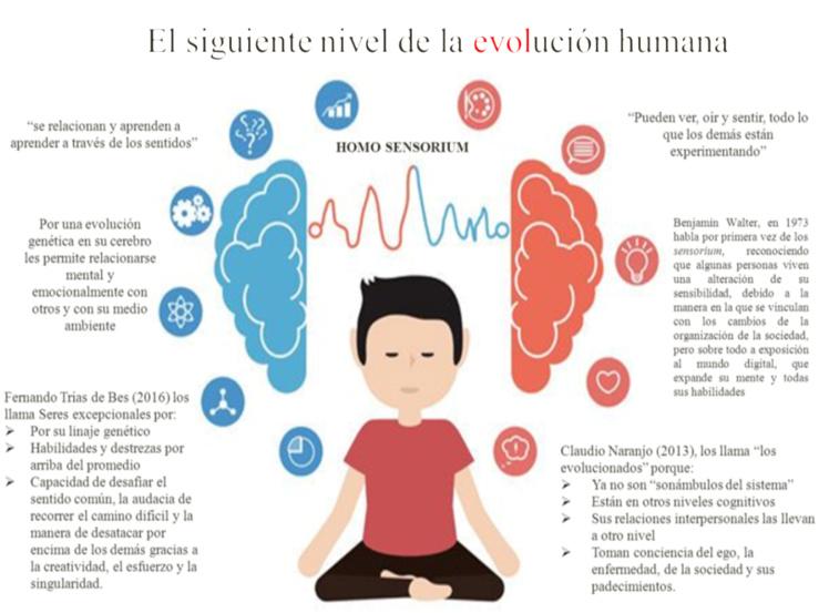 Imagen 4. Los sensoriales. El siguiente nivel de la evolución
