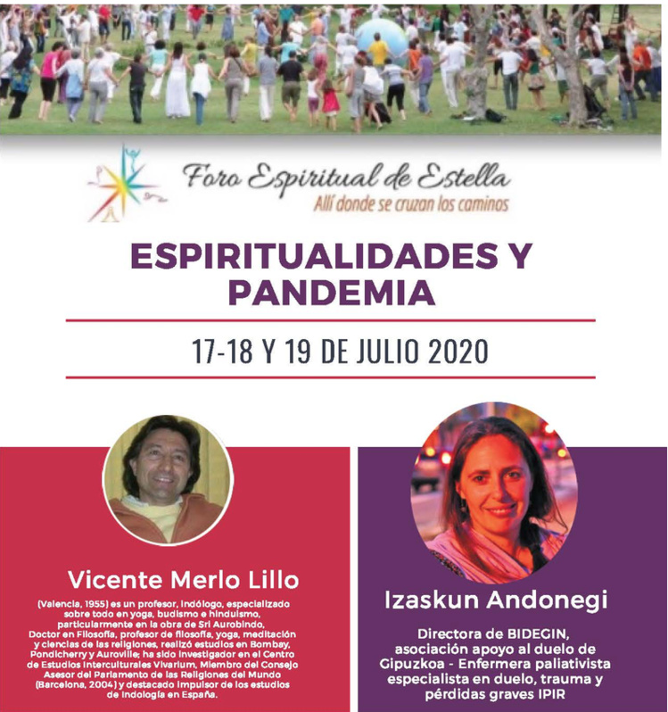 Foro Espiritual de Estella 2020 / Nueva sede y programa definitivo (Comunicación nº 3) / 17, 18 y 19 de Julio