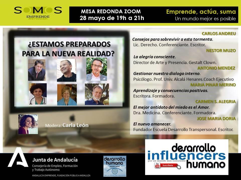 "Mesa redonda de ""Influencers Desarrollo Humano"""
