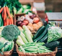 Tabla nutricional de hortalizas y hierbas aromáticas